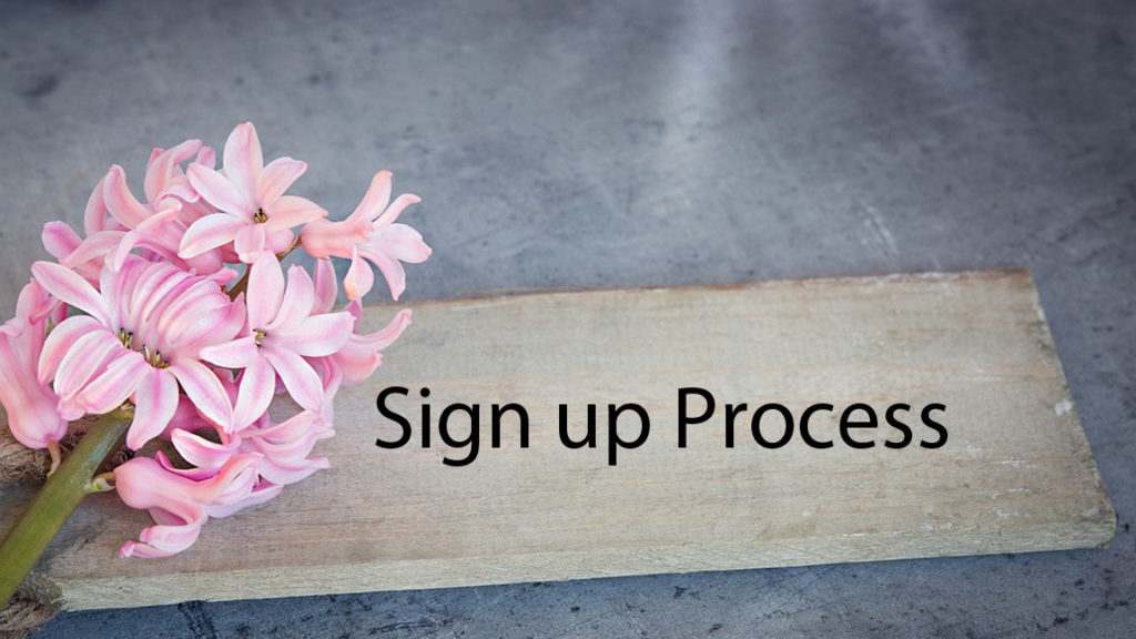 naughty date sign up process