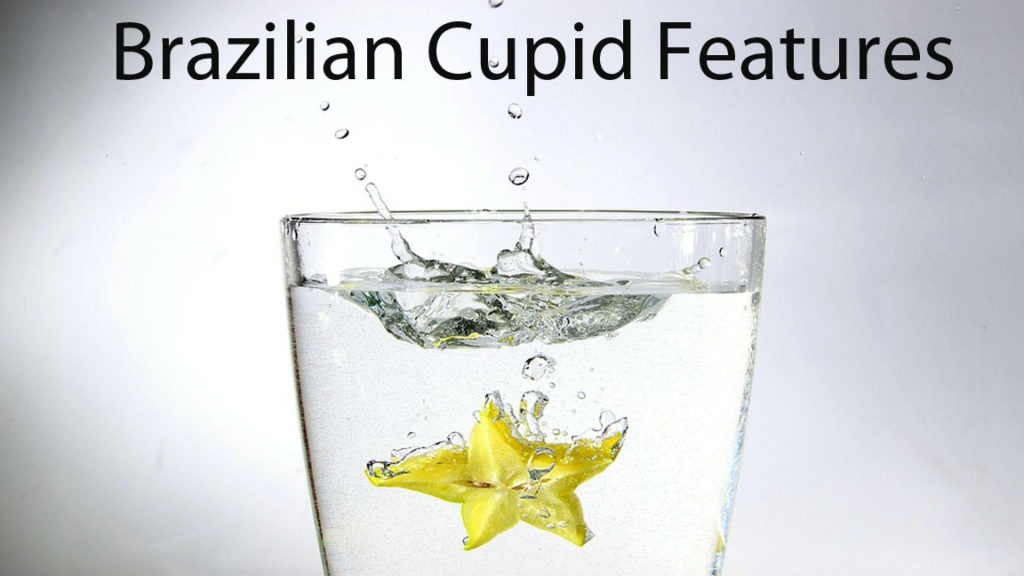 brazilian cupid features