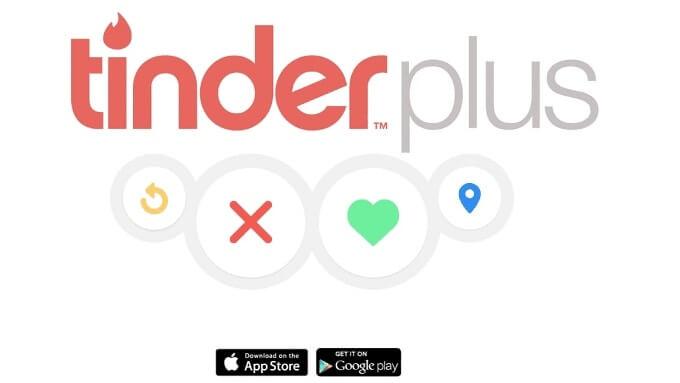 Tinder Plus features