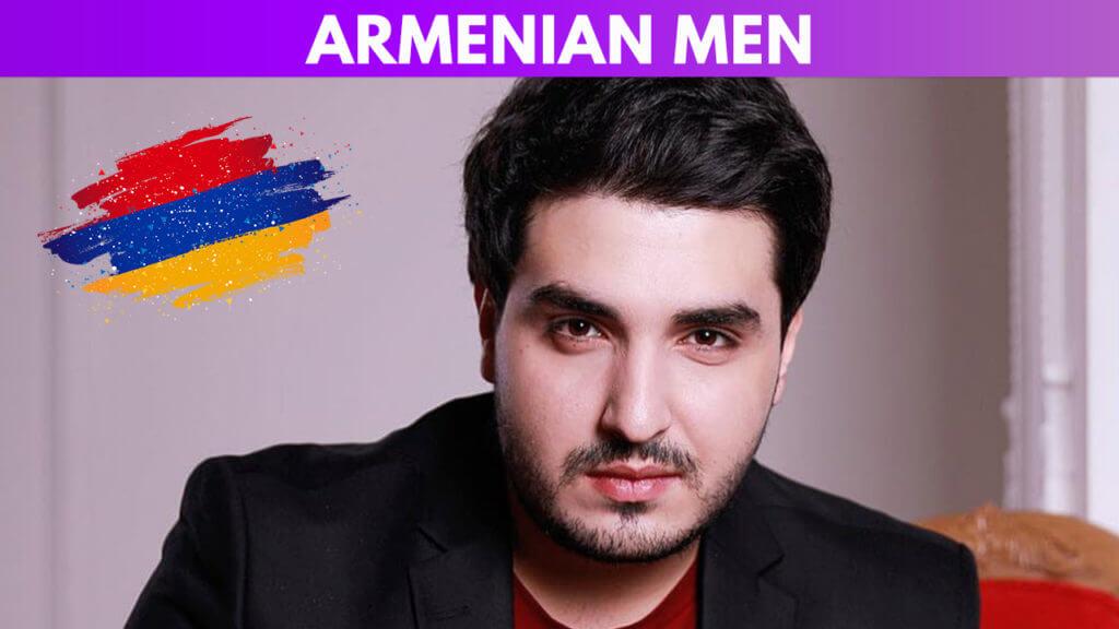 Armenian men guide