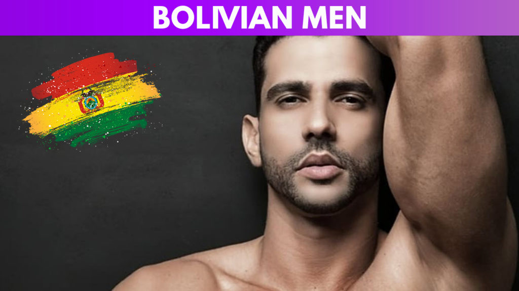 Bolivian men guide