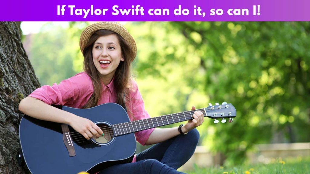 Taylor Swift can do it, so can I