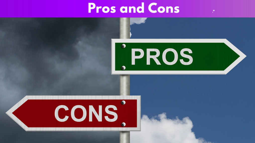 Pros and Cons of events and adventures