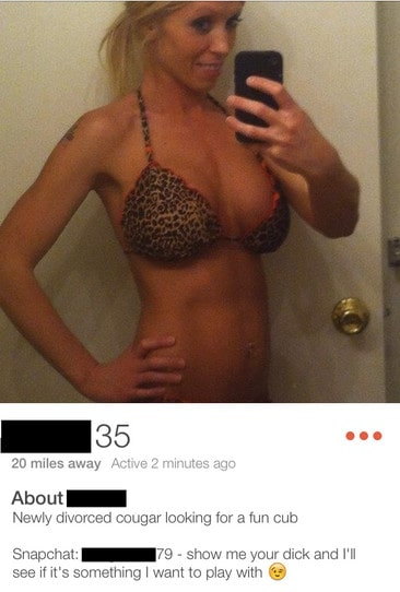Tinder Cougar🐆: FULL Guide to Using Tinder to Find Cougars 2