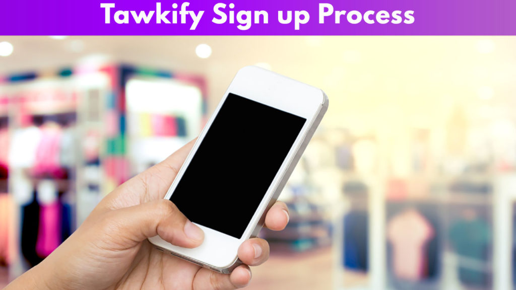 Tawkify Sign up process