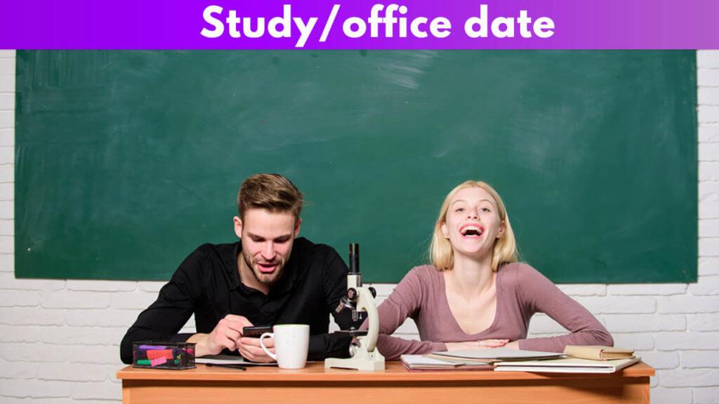 Study/office date