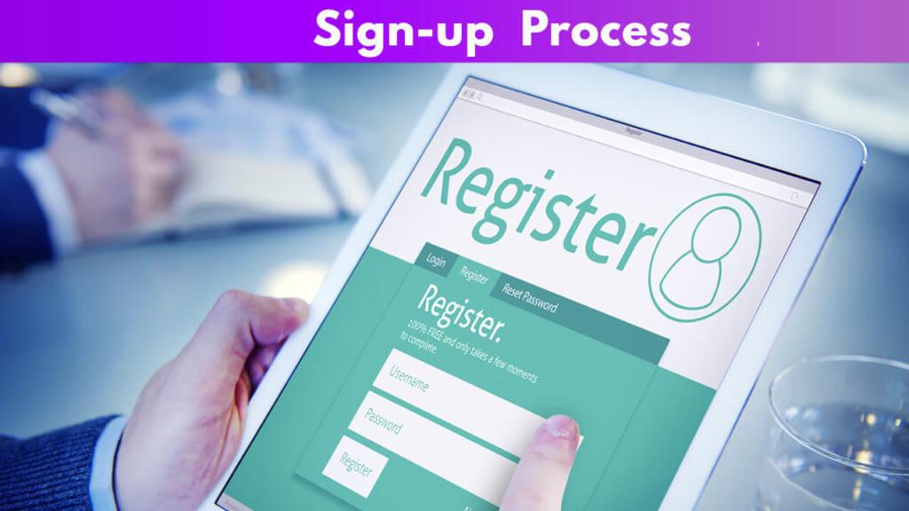 Sign-up Process