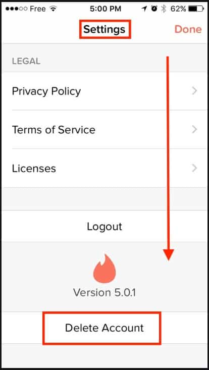 How to Delete Your Tinder Account [And why you should] 4