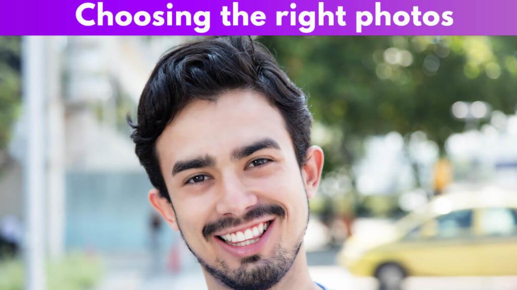 Choosing the right photos
