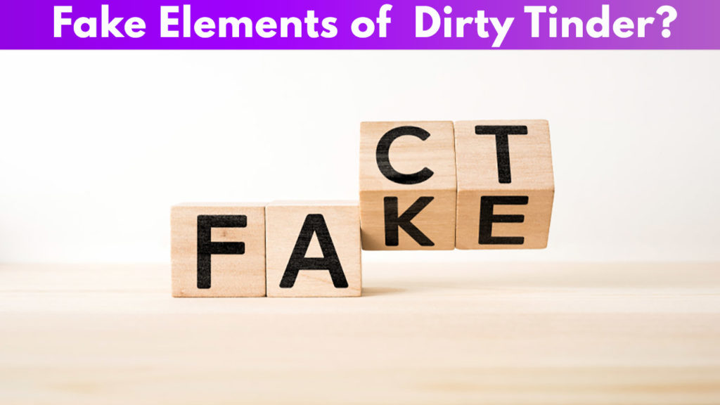 Fake Elements of Dirty Tinder
