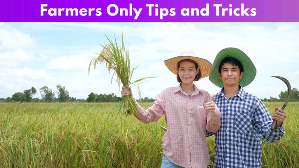 Farmers Only Tips and Tricks