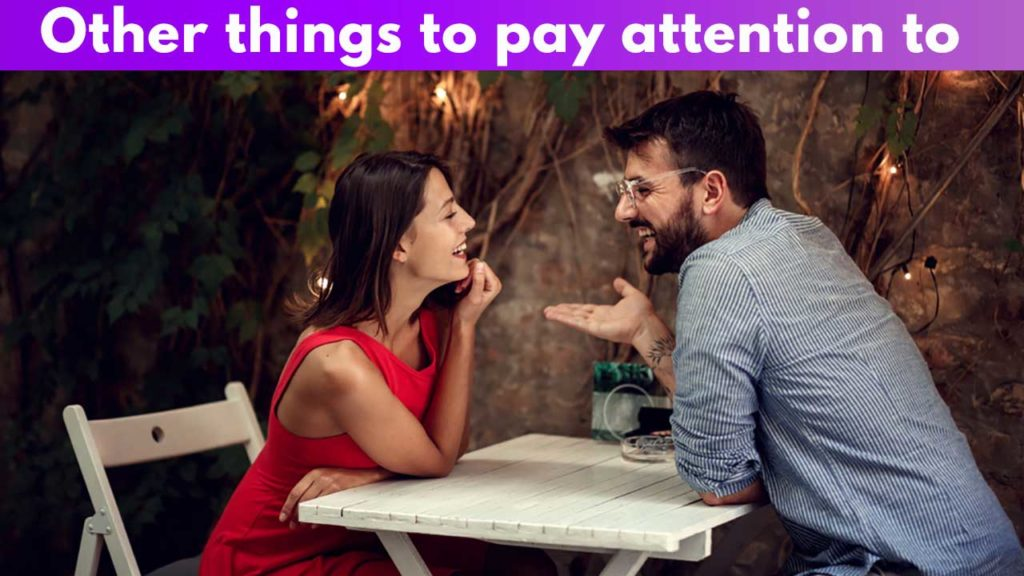 Other things to pay attention to
