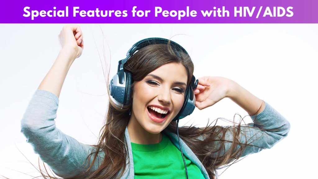 Special Features for People with HIV/AIDS