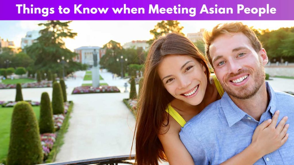 Things to Know when Meeting Asian People on Tinder