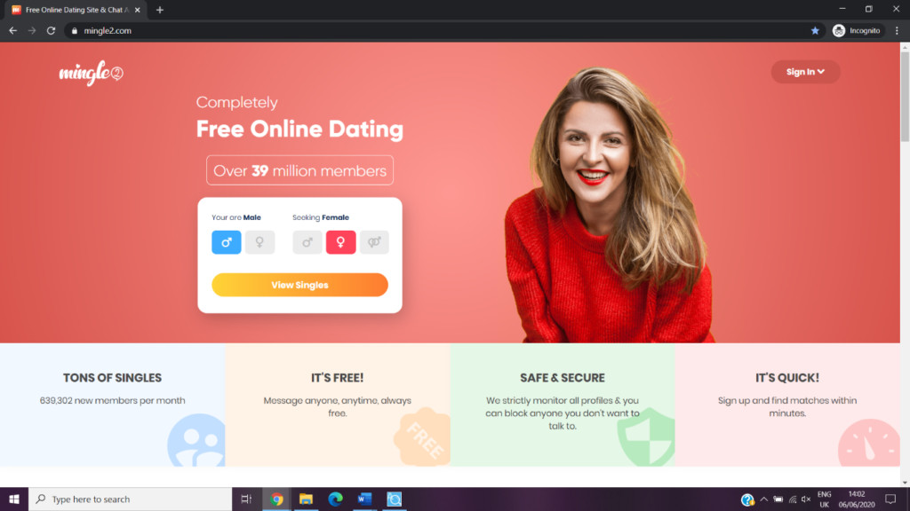 Mingle 2 Review [year] - The real thing or a scam? 1
