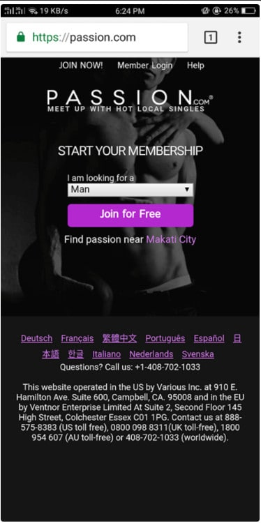 Passion.com Review [year] - Scam or real steamy profiles? 5