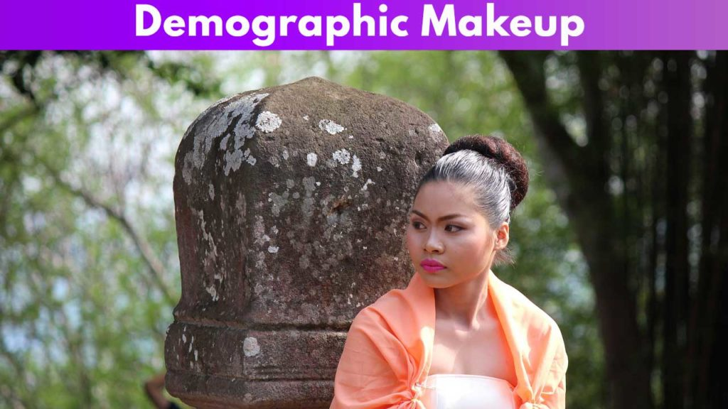 Demographic makeup  Thai
