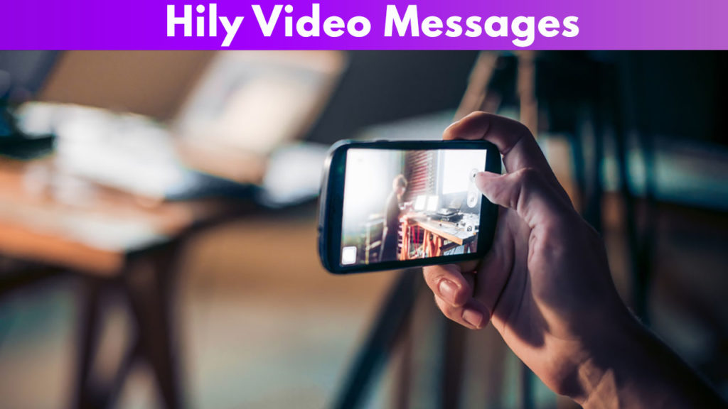 Hily Video messages