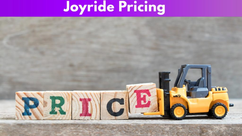 Joyride Pricing