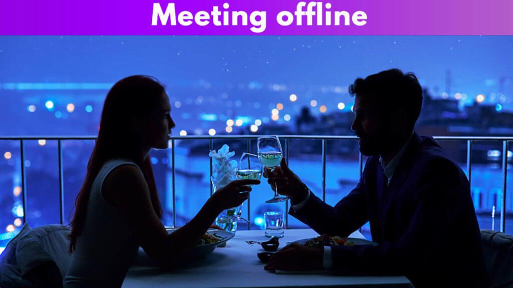 Meeting offline