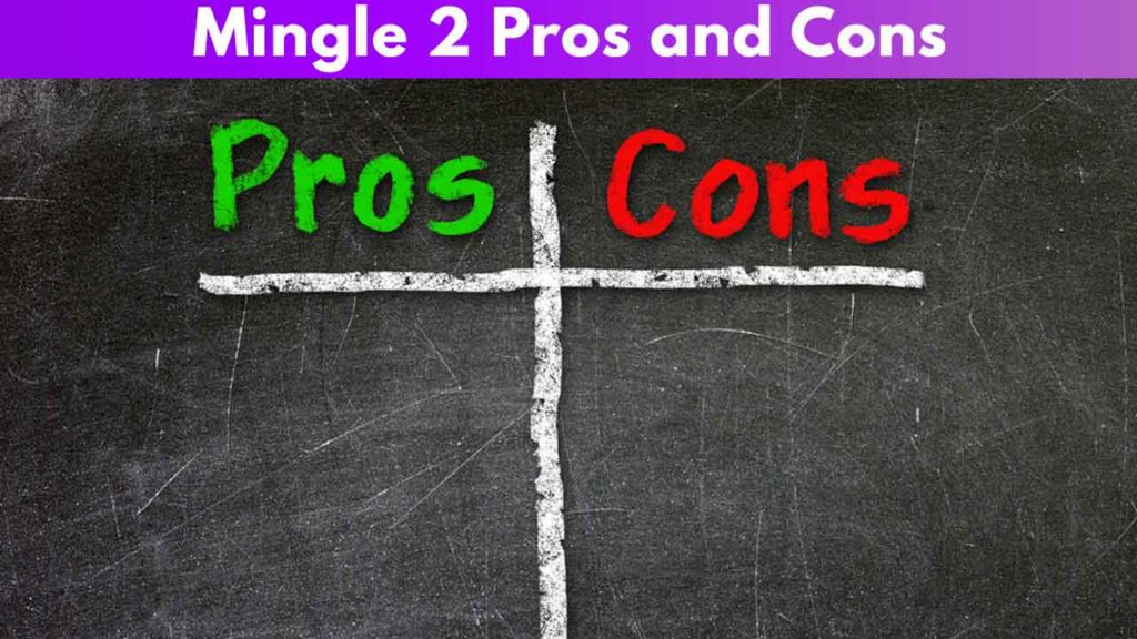 Mingle 2 Pros and Cons
