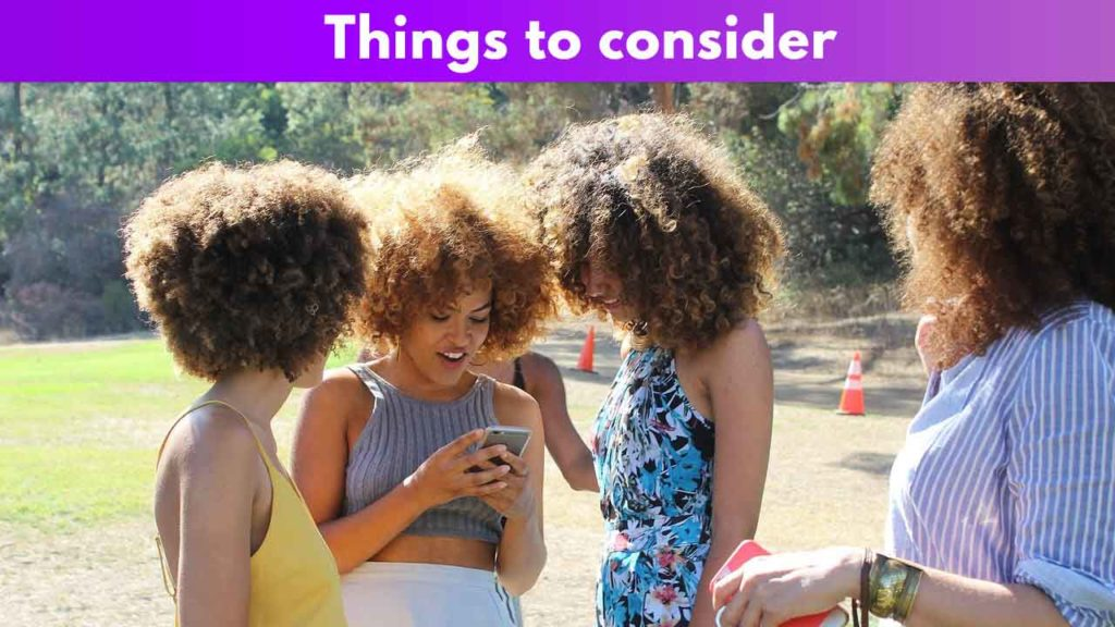 Things to consider 4