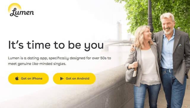 Lumen Dating App Review - Best dating app for 50+? 1