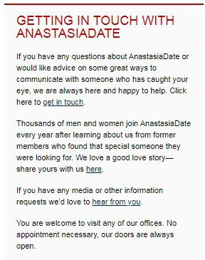 AnastasiaDate Review [year] - Real dates or only fakes? 11