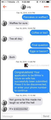Tinder Pick-up Lines – 101+ Lines for Every Type of Girl 14