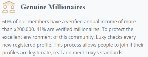 Luxy Review [year] - Does The Exclusive App Really Work? 3
