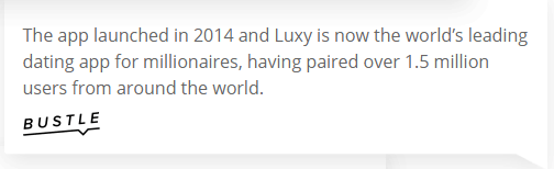 Luxy Review [year] - Does The Exclusive App Really Work? 7