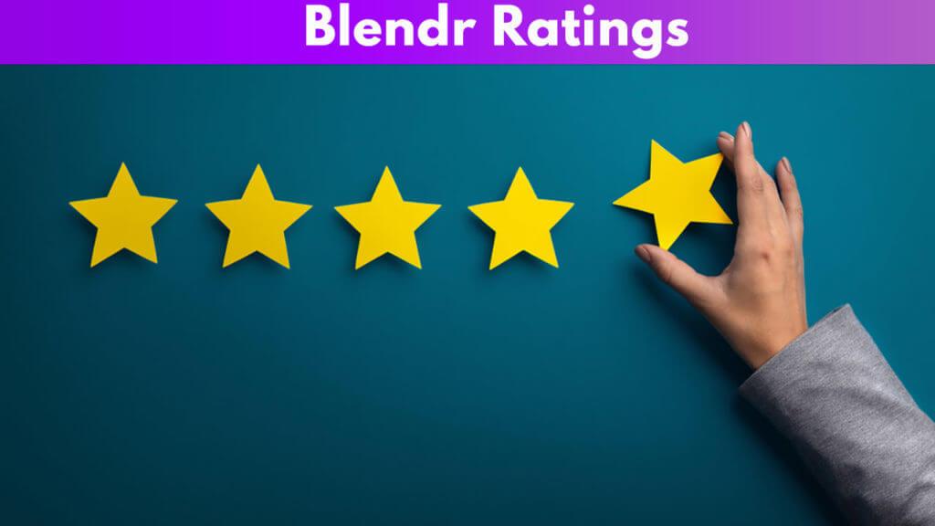 Blendr Ratings
