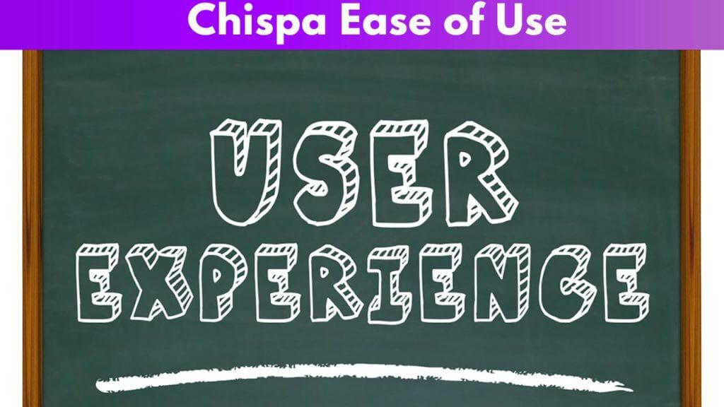Chispa ease of use