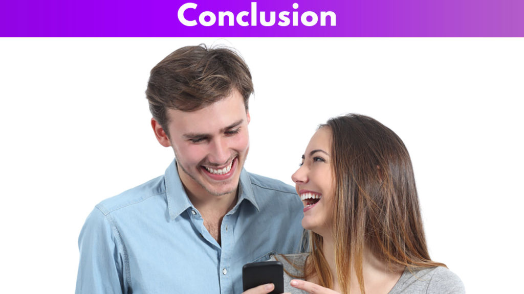 Conclusion on Tinder pick-up lines