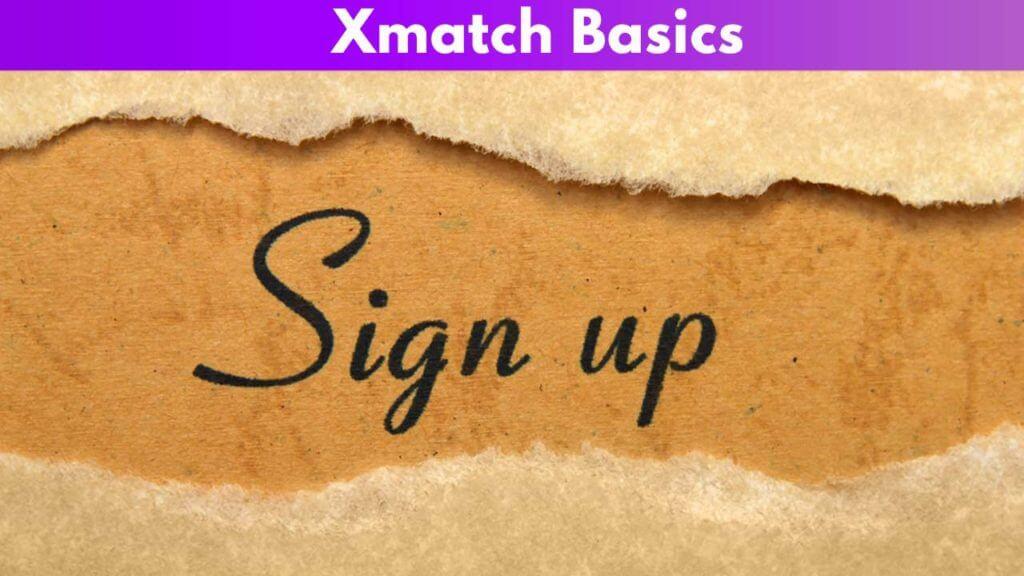 Xmatch Basics