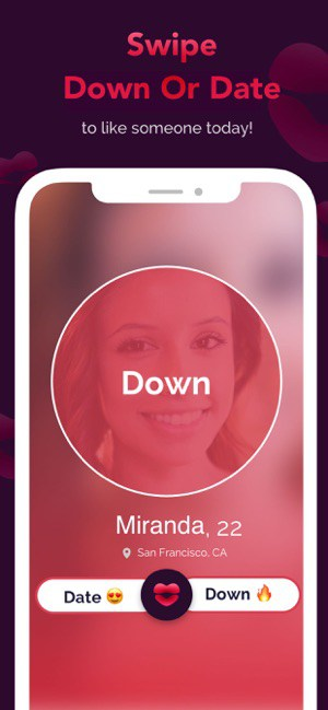 Description: DOWN Dating: Hookup,Match,FWB on the App Store