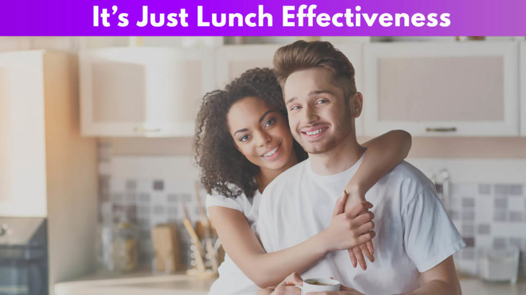 It's Just Lunch Effectiveness