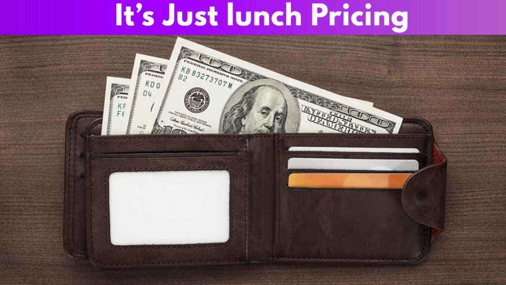 It's Just Lunch Pricing
