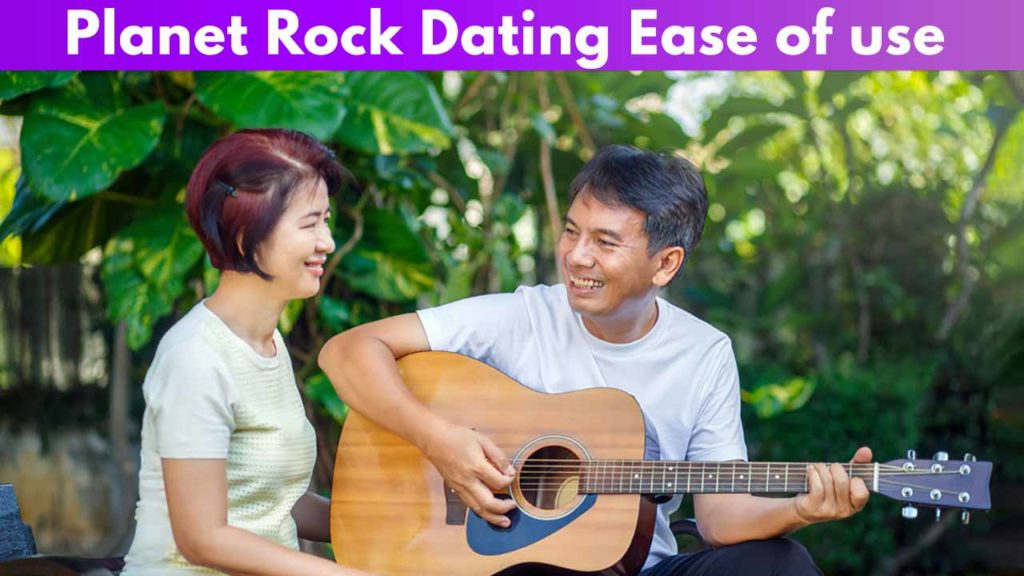 Planet Rock Dating Ease of use