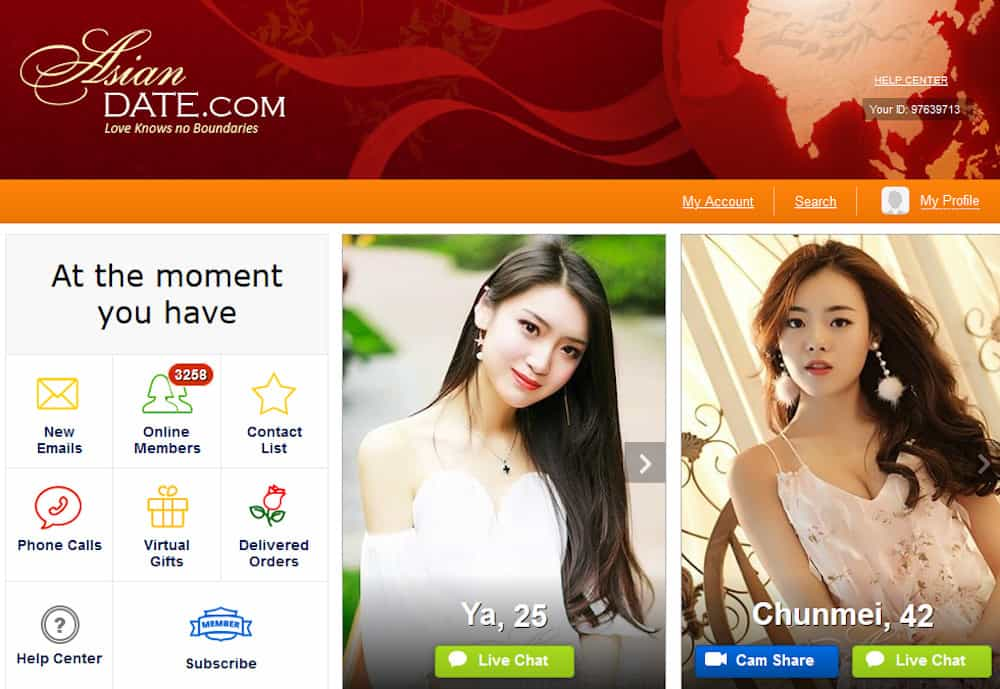 AsianDate Website and App Review