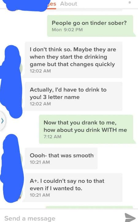 How to Start a Conversation on Tinder (2020) 5