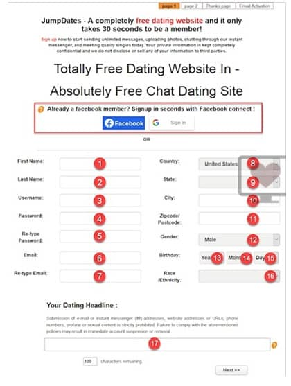 100% Free Dating Sites In The USA 28