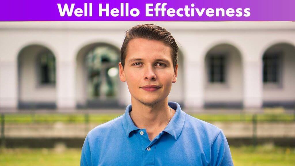 Well Hello Effectiveness