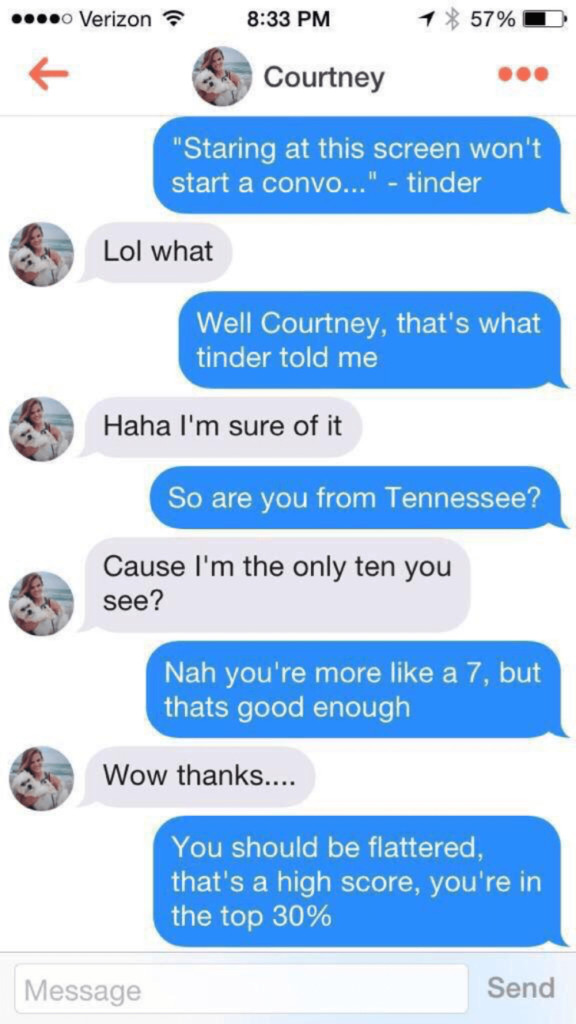 How to Start a Conversation on Tinder (2020) 4