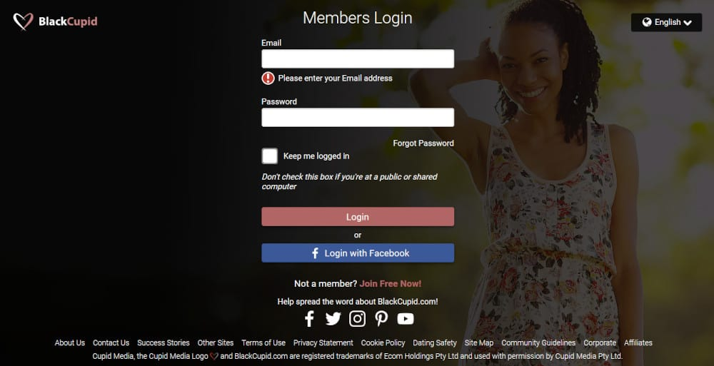 Black Cupid Dating Site Review