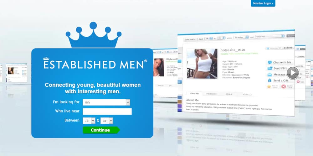 Established Men Dating Site Review