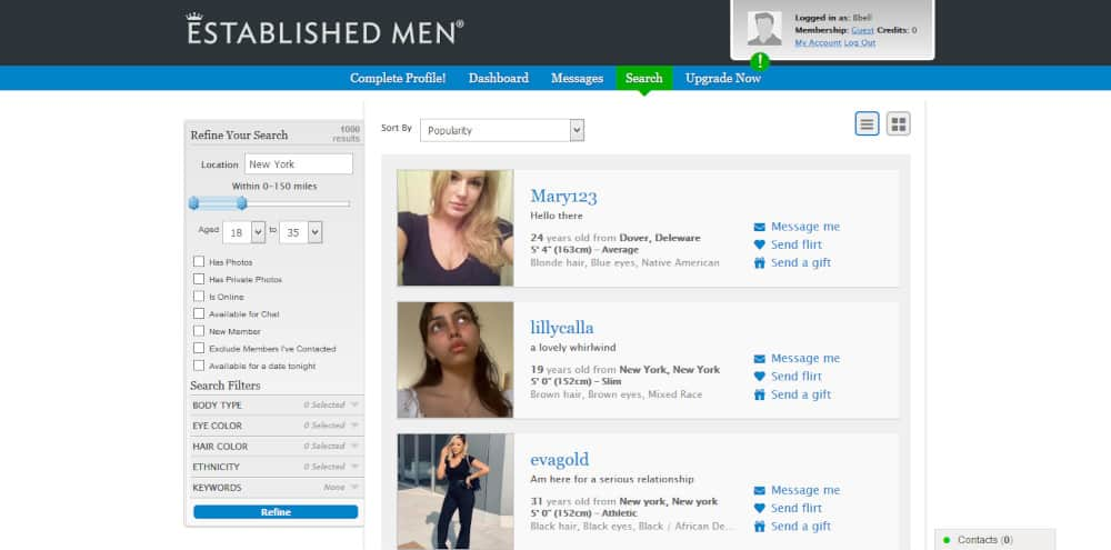Established Men Review [year] - The Dating Site With a Class? 1