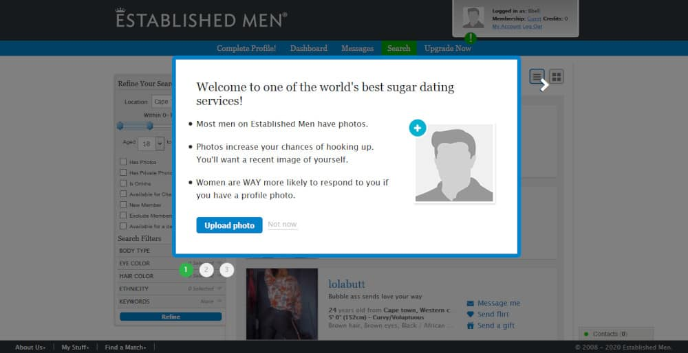 Established Men Review [year] - The Dating Site With a Class? 3