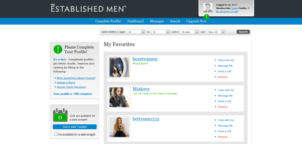 Established Men Dating Site Review [year] 9