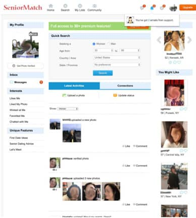 Best Dating Sites for over 60 in [year] – Ratings | Features 4